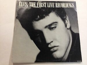 Elvis Presley The First Live Recordings EXc 1983 RCA Label 12`` Record