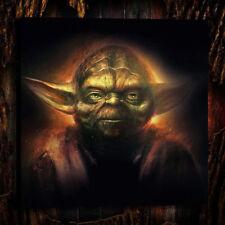 Poster,Oil Painting HD Canvas Print/Modern Art Decorative Wall Star Wars Drawing