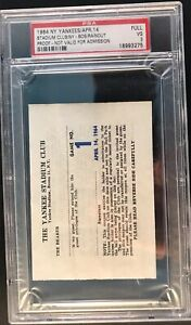 1964 Tony Conigliaro Debut/Hit Opening Day New York Club Ticket Pass Red Sox