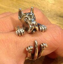 Great Dane Dog Wrap Around Ring