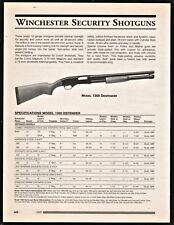 1999 WINCHESTER Model 9422 Lever-Action Rimfire Rifle AD Collectible Advertising