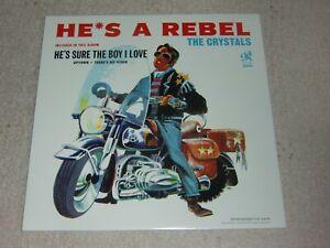 THE CRYSTALS. HE'S A REBEL. PHILLES LP 5409 (SUPER LP).