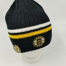 Boston Bruins Hockey NHL Hockey CCM Official Knit Hat Pin 2007-08 Face Off