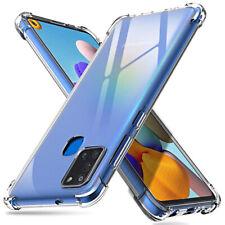 COVER per Samsung Galaxy A21s Silicone TPU Bordi Rinforzati + VETRO TEMPERATO 9H