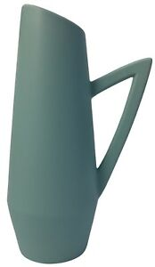 Ceramic Handled Jug Planter Green Can Be Used as A flower Vase 34cm Tall