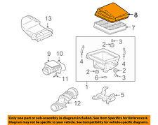 MITSUBISHI OEM 03-06 Lancer Air Cleaner Box Housing-Cover Lid Top MN153353