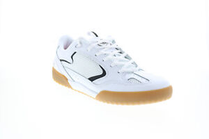 ES Quattaro 5101000174104 Mens White Leather Skate Inspired Sneakers Shoes