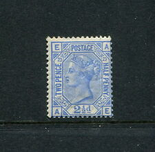 GB GREAT BRITAIN QV sg157 21/2d BLUE PLATE 23 MINT POSSIBLY UNMOUNTED