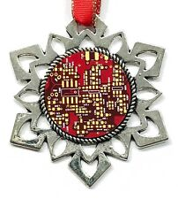 3 Christmas Ornament Set - ChipScapes #6: Computer Circuit Boards (PCB)