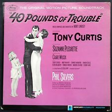 Rare US promo! Mort Lindsey 40 POUNDS OF TROUBLE soundtrack LP 1963 Phil Silvers