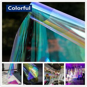 Colour Changing Self-adhesive Rainbow Pravicy Colourful Window Tint Vinyl Film