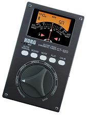 KORG GT-120 Bass Guitar Chromatic Tuner