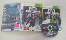 Binary Domain Xbox 360 Game PAL