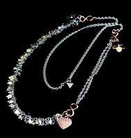 guess UBN31106 kette halskette damen zweifarbig  kristall  neu