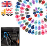100pcs Cord Locks Adjustable Toggles Elastic Stopper for Face Cover Tightening