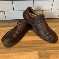 Clarks FlexLight Mens Brown Leather Shoes Supporting Flexible Quick Drying 13 G