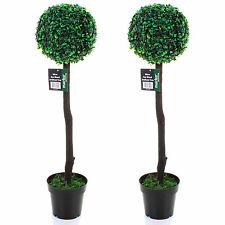 Topiary Trees Artificial Tree 4 Designs Indoor / Outdoor Garden Wedding Aisle Rustic Black Pot 2