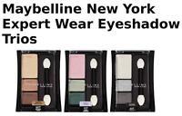 "Maybelline New York Expert Wear Eyeshadow Trios,""CHOOSE YOUR SHADE!"""