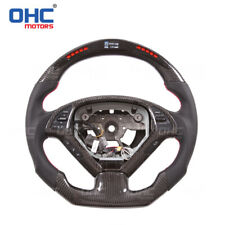 Real Carbon Fiber LED Steering Wheel for Infiniti G37 LED Performance Display