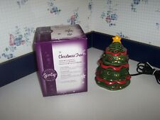 Scentsy Warmer Holiday Collection Christmas Tree Premium Full Size with Box,
