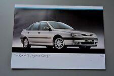 UK Sales Brochure Renault Laguna V6 2.0 1.8 & Diesel