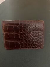 Ralph Lauren Alligator card holder