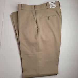 Flying Cross Men's Uniform Pants Size 36 R X 37 Unhemmed Tan Style F13900