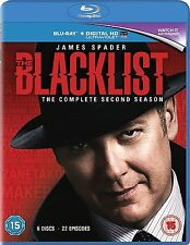 The Blacklist Complete Series 2 Blu Ray Black List  All Episode Second Season UK
