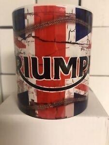 Oil Can Mug Triumph Motorbike Gift Coffee Tea Retro 11oz Cup