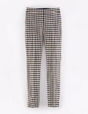 Boden Women's Woolen Straight Leg Trousers