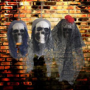 Halloween Hanging Pirates Corpse Skull Haunted House Bar Home Garden Decor^