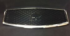 2014-17 Q50 OEM/Accessory Infiniti Midnight Black Grille WithOUT AVM F2310-4HB1A