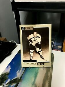 WILLIE O'REE PINNACLE BEEHIVE #75 OVERSIZED CARD BOSTON BRUINS 1997