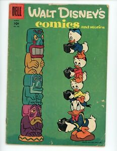Walt Disney's Comics and Stories #186, GD 1956 Donald Duck, Mickey Mouse, Daisy