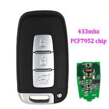 Keyless Smart Remote key Fob 3 Button 433MHz ID46 for Kia K2 K5 New Sportage