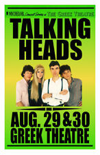 Talking Heads Replica 1983 Concert Poster
