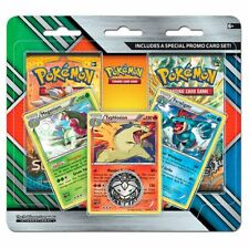 Pokemon TCG: 2Pack Blister:Meganium,Typhlosion, and Feraligatr Cards + 2 Booster