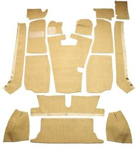 1968-1980 MG MGB Complete Cutpile Replacement Carpet Kit