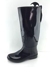 Coach Women's Black Rain Boots 8