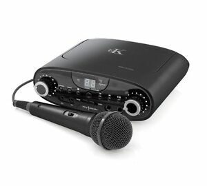 Easy Karaoke EKG-88B Party Karaoke Machine / System RRP £39.99 FREE DISC