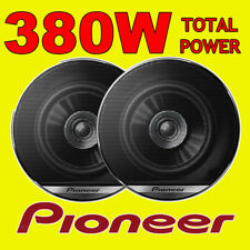 PIONEER 380W TOTAL 4 INCH 10cm DualCone CAR DOOR/SHELF COAXIAL SPEAKERS NEW PAIR
