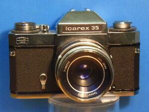 (7613) Zeiss Ikon Icarex 35 mit Zeiss Tessar 1.2,8/50mm