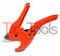 PVC Pipe Cutter Ratchet Type Cuts PVC CPVC PL Plastic Rubber Hose Up-To 1-5/8 HD