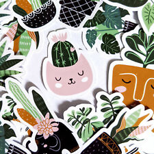 35 Modern House Plant Stickers - Journal, Diary Stickers, Scrapbooking Stickers