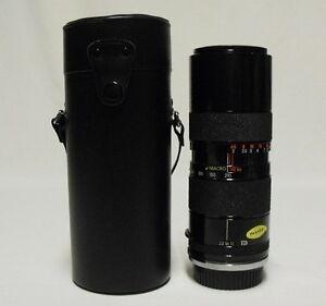 TAMRON BBAR f/4.5 85-210mm  Macro Zoom Lens SLR Film Camera Contax Y/C Mount