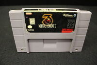 MORTAL KOMBAT 3 Super Nintendo SNES Game Cartridge, Guaranteed