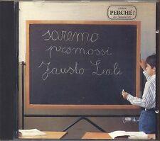 FAUSTO LEALI - Saremo promossi - CD 1991 USATO OTTIME CONDIZIONI