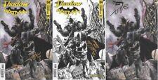Shadow Batman #4 OneStopComicShop VARIANT SET signed x2 Timpano Desjardins 1:100