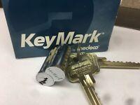 New Keymark - Medeco Interchangable SFIC Core with Two Keys & Control Key