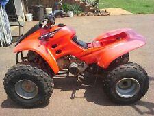 HONDA TRX90 SPORTRAX LEFT REAR TIRE RIM WHEEL COMBO 4 WHEELER ATV 2005 USED OEM
